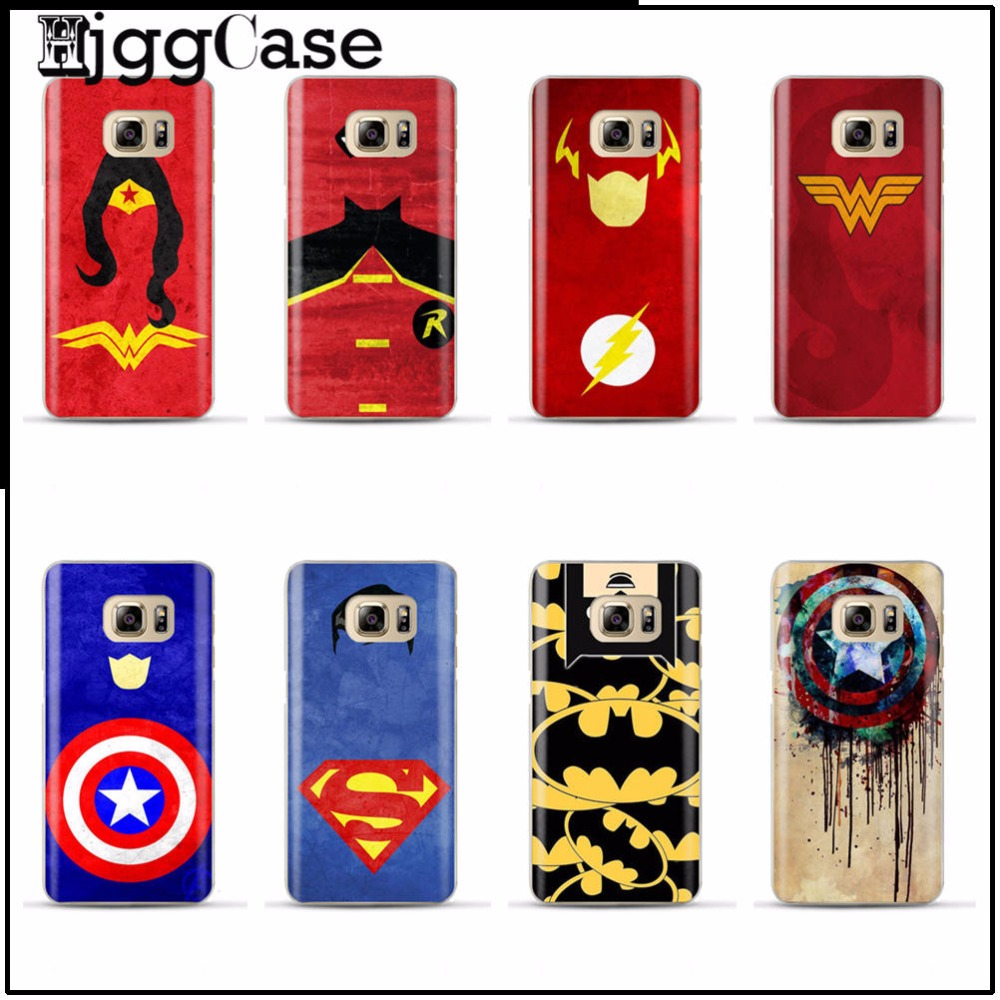 Pics photos batman logo evolution design for samsung galaxy case - Batman Superman Flash Micro Zhang Cover Case For Samsung Galaxy A3 A5 A7 J5 J7 2015