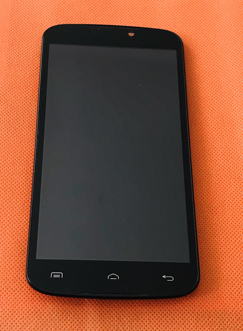 """Used Original Touch screen + LCD display + Frame for Doogee X6 MTK6580 Quad Core 5.5"""" HD 1280x720 Free shipping"""