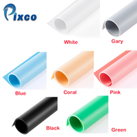 Pixco 60 125CM PVC Photo Studio Material Background Reflection Props Photography Equipment Photography Backdrop 7 Colors