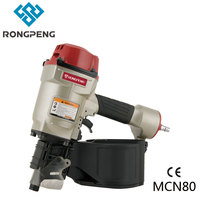 RONGPENG HEAVY DUTY COIL PALLET NAILER MCN80 2x0.099 TO 3 /4x0.131 15 DEGREE Wire Collated Coil Framing Nails Not MAX80