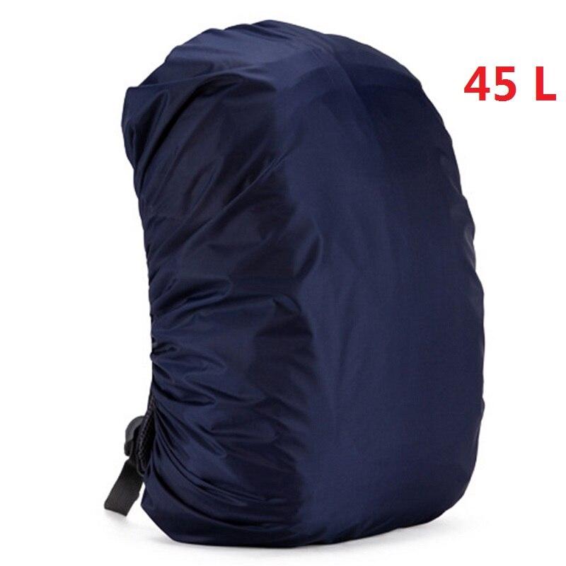 Mount Chain 35/45 л регулируемый водонепроницаемый рюкзак с защитой от пыли дождевик Портативный Сверхлегкий плечо защиты Открытый Инструменты для пешего туризма - Цвет: 45 liters 5