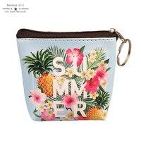 6ชิ้นหนังPUฤดูร้อนฤดูใบไม้ผลิของผู้หญิงกระเป๋า6สีกระเป๋าเงินเหรียญดอกไม้ขายส่งกระ