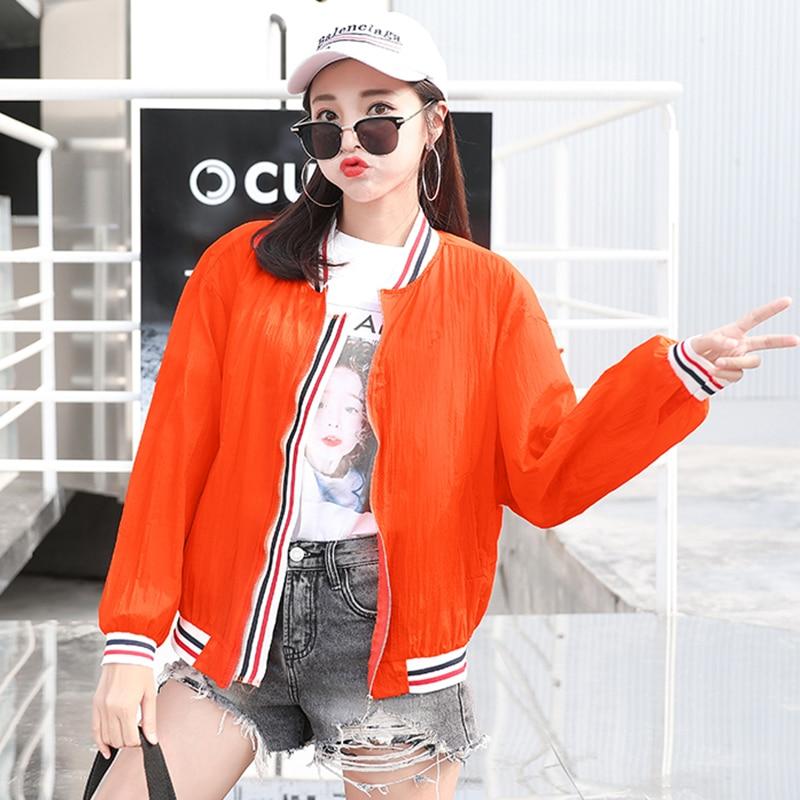 Bomber   Jacket   Women New Fashion Women's   Basic     Jacket   Fashion Windbreaker Coat Outwear Female