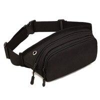 Men Waterproof 1000D Nylon Sling Chest Fanny Pack Waist Bag Hip Bum Belt Messenger Shoulder Pouch