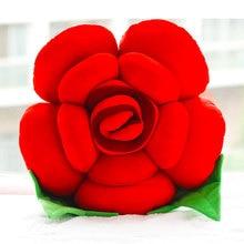 Creative Cartoon Roses pillows Cushions  Nap Pillow Decoration Cushion and Waist Valentines Day Christmas present