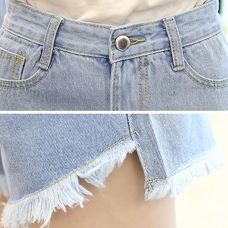 2019 Summer Shorts For Women Jeans Denim High Waist Short Women's Hot Elastic Sexy Slim 2019 Female Shorts Feminino Pockets