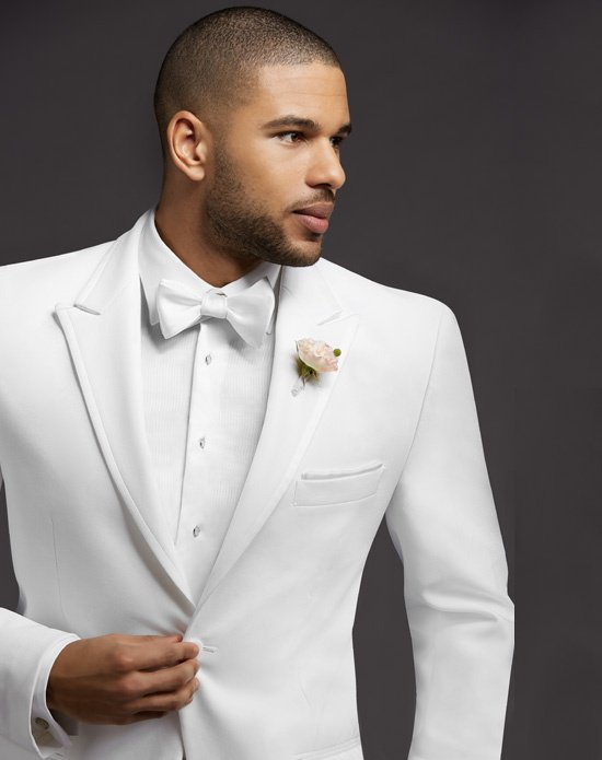 High Quality One On White Groom Tuxedos Groomsmen Mens Wedding Suits Prom Bridegroom Jacket Pants Tie No 995 In From Men S Clothing