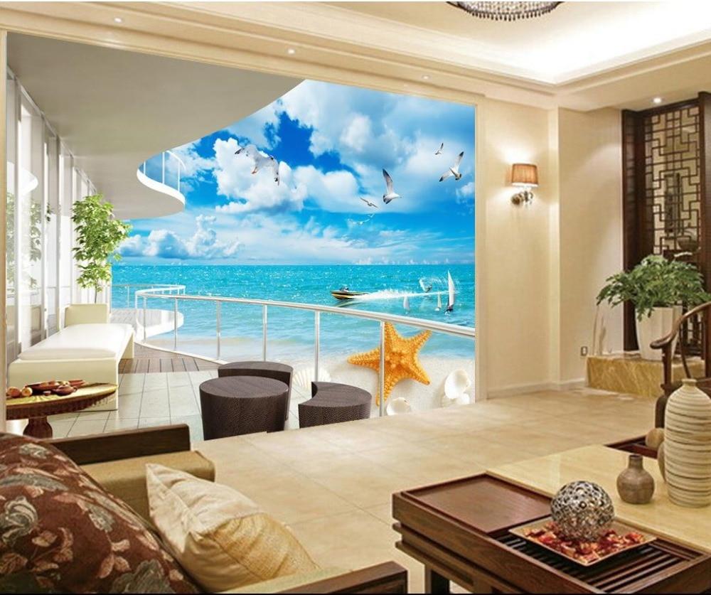 3d stereoskopischen tv hintergrundbild das wohnzimmer for 3d fototapete schlafzimmer