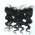 7A Grade Brazilian Lace Frontal 13x2 Straight Ear To Ear Lace Frontal With Baby Hair Virgin Human Hair Full Frontal Lace Closure