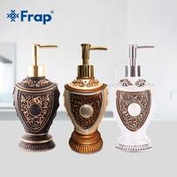 FRAP liquid soap dispensers resin soap pump bottle Bathroom Shampoo Lotion Dispenser embases parra jabon liquido