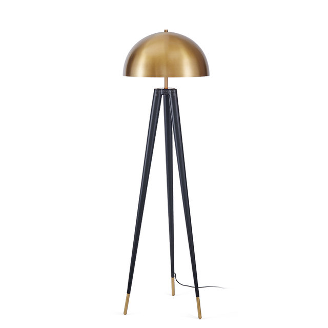 Retro tripod gold floor lamp italian designer floor lamp for living retro tripod gold floor lamp italian designer floor lamp for living room gold lampshade industrial floor mozeypictures Images
