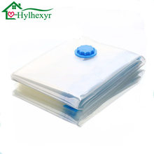 2017 The E Saver Vacuum Seal Transpa Plastic Quilt Clothes Socks Classification Storage Bags Household