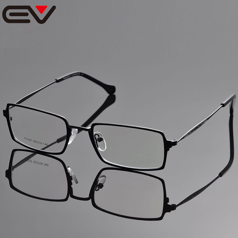 46a66772a7f Eye Glasses Frame For Men Monturas De Gafas Oculos De Grau Masculino Clear  Glasses Titanium Lentes Opticos Oculos Grau EV1038