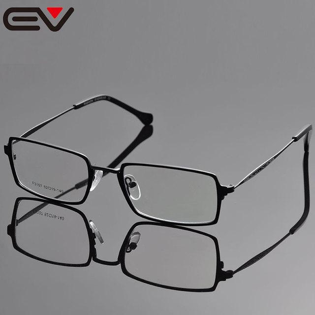 57e09e02dd095 Eye Glasses Frame For Men Monturas De Gafas Oculos De Grau Masculino Clear  Glasses Titanium Lentes Opticos Oculos Grau EV1038