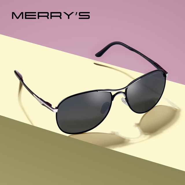 MERRYS - Classic Pilot Sunglasses 1