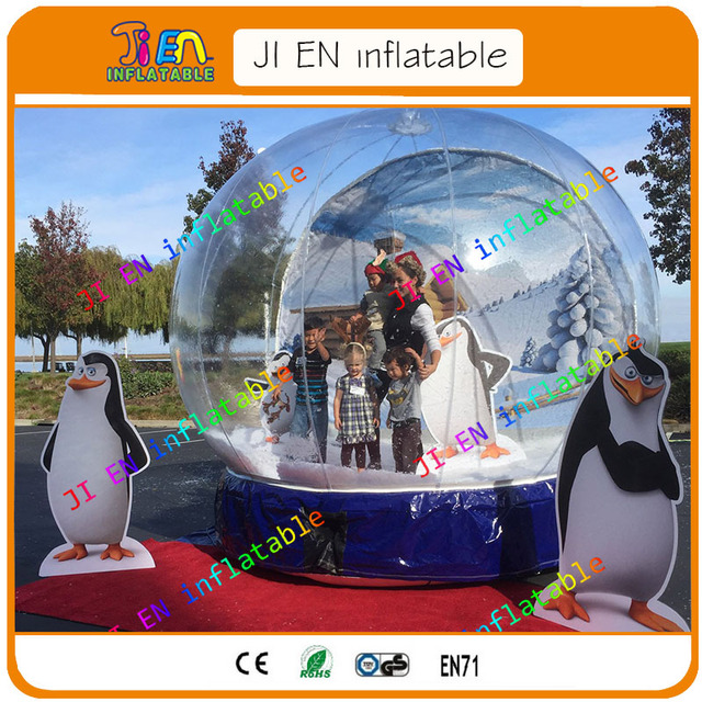 Cheap Inflatable Globe Inflatable Snow Globe For Christmas Inflatable Christmas Snow Globe Bubble Display