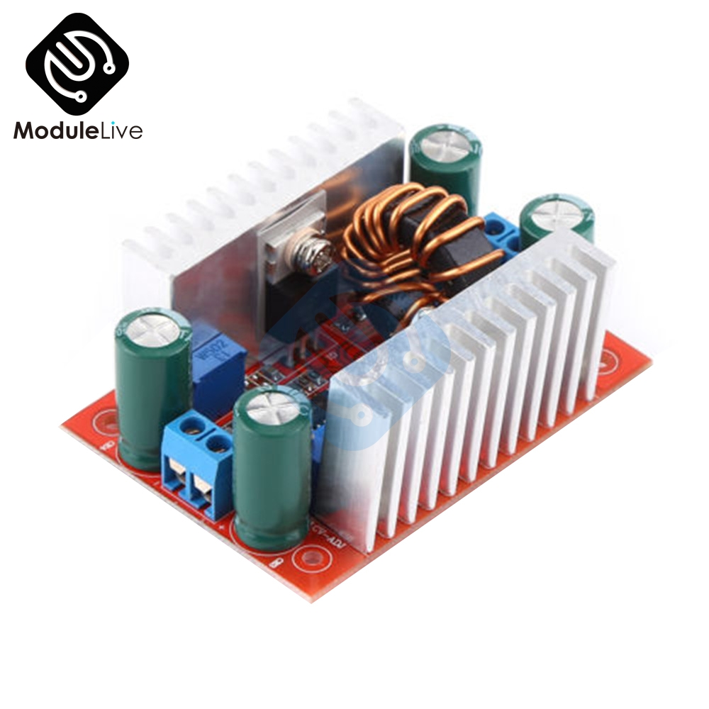 400W 15A DC-DC Step-up Boost Converter Constant Current Power Supply Module LED Driver Step Up Voltage Module Board 5pcs dc dc step up converter booster dc dc power supply module adapter output 2a 28v for arduino step up power board mt3608