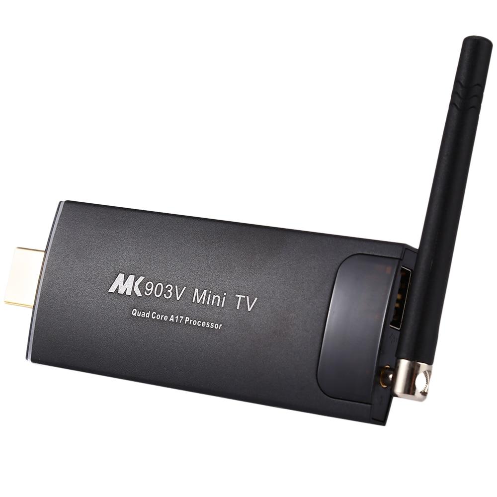 New MK903V RK3288 Quad Core Cortex A17 Android Smart Mini PC TV Stick Ultra HD 4K HDMI WiFi H.264 H.265 BDMV ISO Android TV BOX