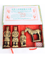 Terracotta Army 4 piece gift box features crafts souvenirs
