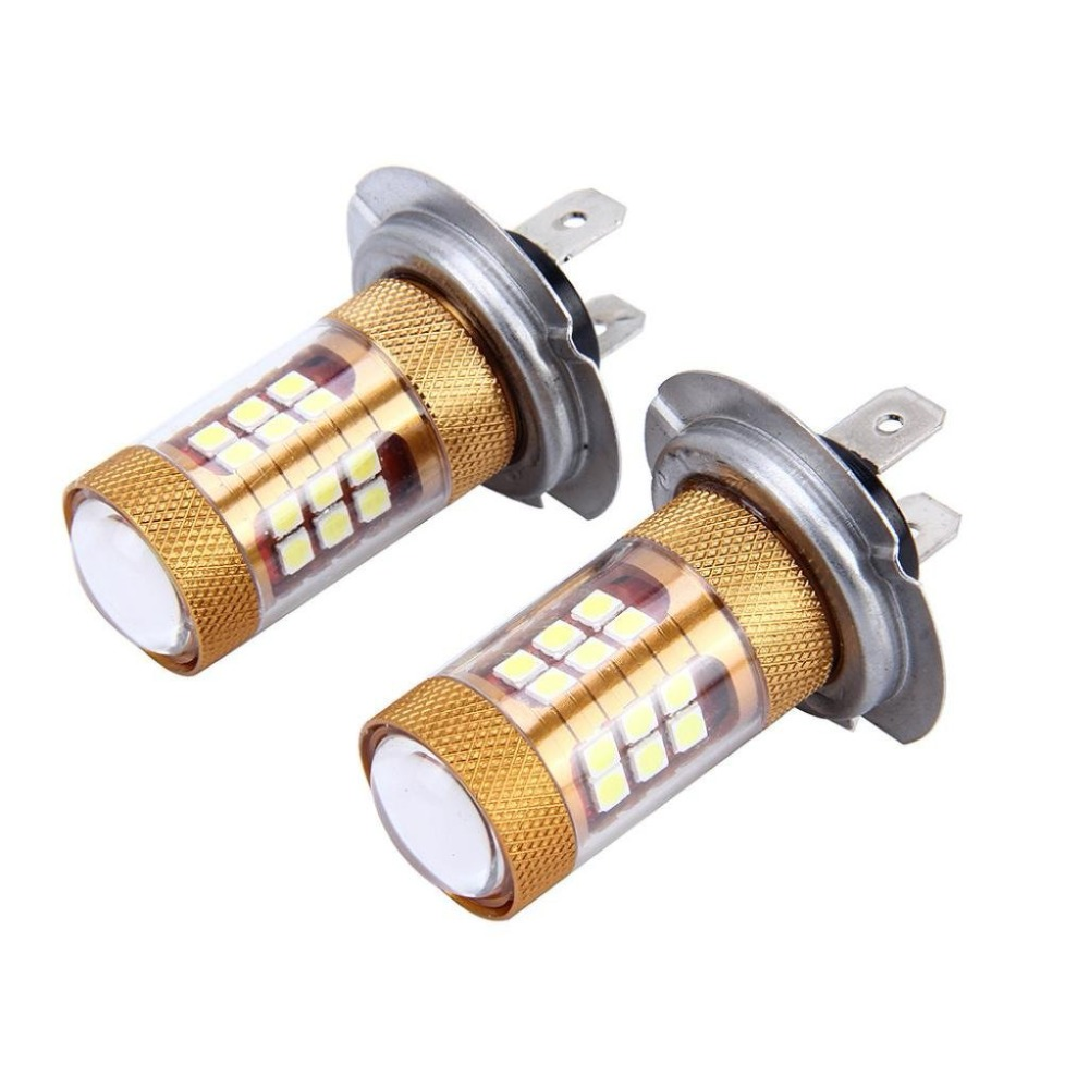 2Pcs 55W H7 LED Lamp Ampoule Car Fog Lights 12V 24V White Car Driving DRL Daytime Running Light Auto Led H7 Voiture lampada Bulb auto car led white drl driving daytime running light fog lamp daylights for hyundai ix35 2014 2017 2pcs free shipping d35