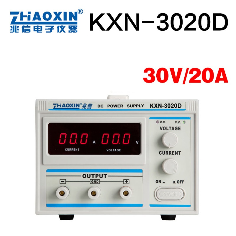 KXN 3020D DC power supply 30V20A adjustable power supply 30V 20A LED High Power Switching Variable