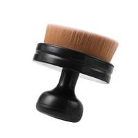 1PC Professional Multifunctional Flat Ultra Powder Liquid Foundation Brush Cheek Blush Contour Cosmetic Makeup Brush Beauty Makeup Brushes