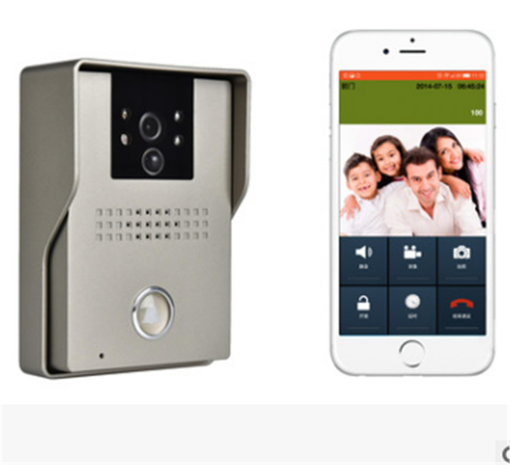 HD 720P APP Remote Conrol Wireless WIFI Video Door Phone IP Doorbell app remote control 720p wifi video door phone