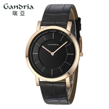 Women watch GRANDIA brand business Mechanical watch two-needle simple couple table man woman fashion wristband gift clock 6012