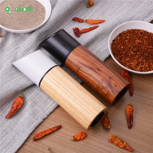 Wooden Salt & Pepper Grinders Salt And Pepper & Spice Grinders Mills Manual Pepper Mill Creative Kitchen Tools 2 pcs/set