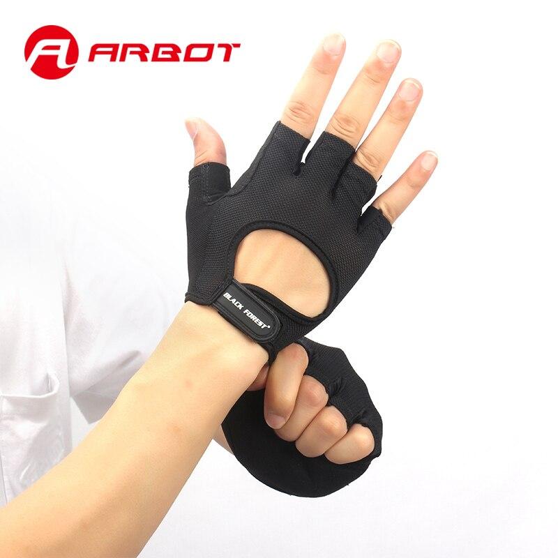 Sport Fitness Glove per le Donne Degli Uomini Bodybuilding Sollevamento Pesi Guanti Accise Hollow Traspirante Anti Slittamento Gym Guanti senza dita