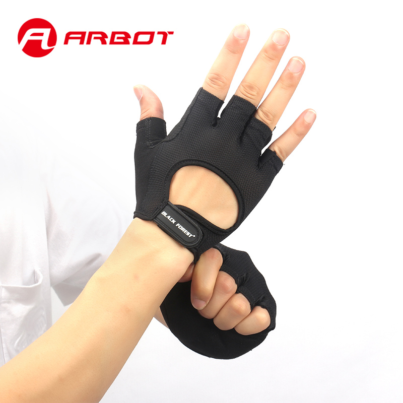 Sport Fitness Handschuh für Frauen Männer Bodybuilding Gewichtheben Verbrauchsteuern Handschuhe Hohl Atmungsaktive Anti Slip Gym Fingerlose Handschuh