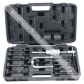 16PCS Blind Hole Pilot Slide Hammer Internal Bearing Extractor Puller Tool Kit