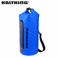 KastKing 10L 20L 30L Portable Outdoor Waterproof Dry Bag Double PVC Closure Storage Bag For Fishing