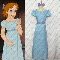 Peter Pan Wendy Dress Cosplay Costume Anime PeterPan Clothing Customized