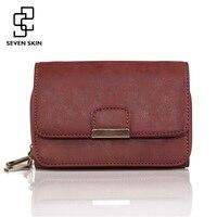 SEVEN SKIN Brand Fashion Women Messenger Bag Female Solid Leather Crossbody Bags Women S Small Shoulder