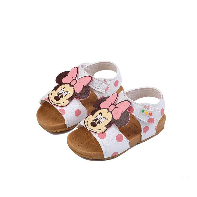1e09ed4cc 2019 New Children s Shoe PU Leather Bebe Girls Sandals Summer 1-2-3 Years  Old Toddler Girls Shoe Cute Cartoon Style Dropshipping