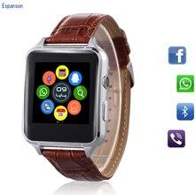 Espanson X7 Inteligente Relógio Spor Relógio Com Sim Slot Para Cartão TF Bluetooth apropriado para Apple iPhone Android Smartwatch relógio de pulso de Telefone