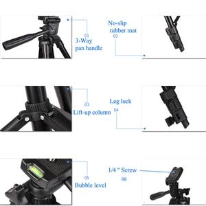 Image 5 - 35 100 سنتيمتر ترايبود حامل كاميرا المحمول جبل Tripe حامل كليب مجموعة آيفون 11 12 برو ماكس X XS 6 S 7 8 Plus بلوتوث