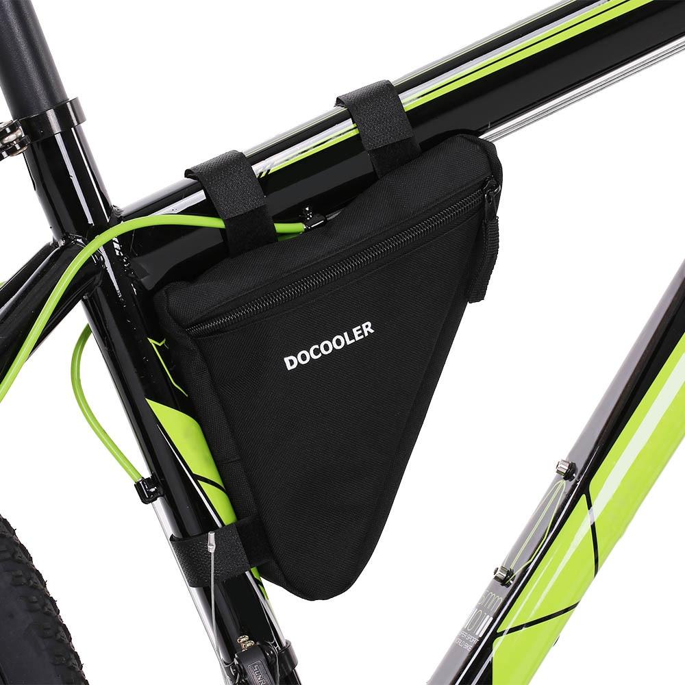Fashion Waterproof Front Frame Tube Triangle Bike Cycling Bicycle Saddle Bag