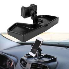 Car Cellphone Holder Black ABS Mobile Phone Rack Ca
