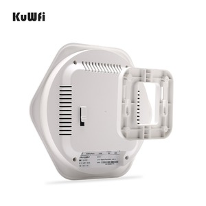 Image 5 - KuWFi 300Mbps Wireless Router Indoor Celling Access Point High Performance Indoor Wifi Router Wireless AP With 48V POE