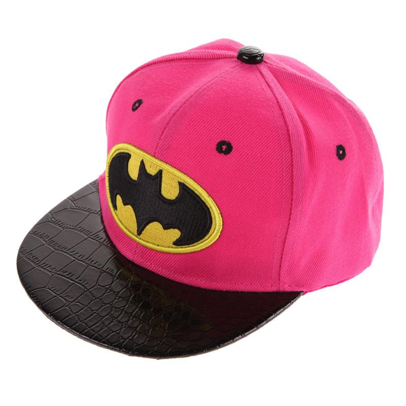 Batman Kid's Snapback Cap - Pink