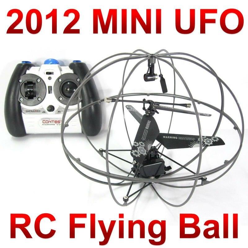 Gratis frakt 3CH RC fjärrstyrning mini Flying fly 777-286 UFO boll quadcopter drone helikopter leksak FSWB