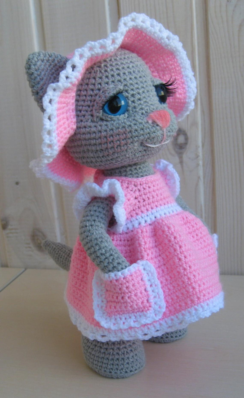 Crochet Toys  Amigurumi Cat Girl Model Number KO0016