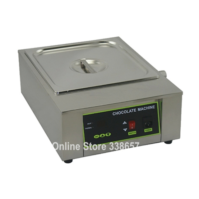Single tank electrical commercial chocolate melting machine chocolate warmer melter