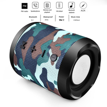 2019 LIGE Mini Bluetooth Speaker Portable Wireless Sound System 3D Stereo Music Surround Support Bluetooth,TF AUX USB