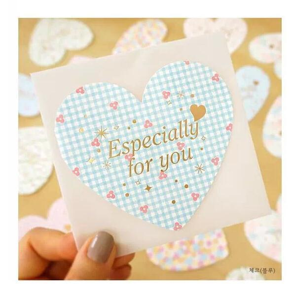 Korea Greeting Cards Birthday Wishes Small Card Holiday Business Thanks Love Wholesale