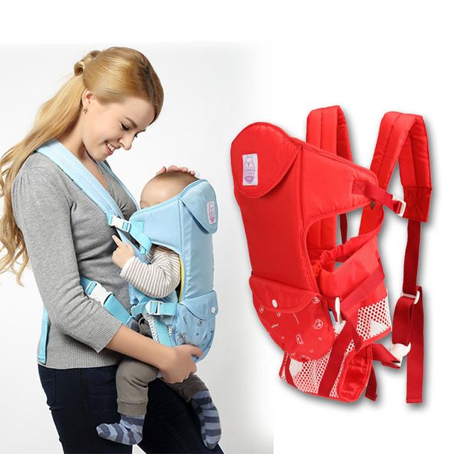 2017 Novas Mochilas 360 Portador de Bebê Multifuncional ergonômico Infantil Carriers Kid Carriage Envoltório Estilingue Do Bebê Suspensórios 15 KG dentro