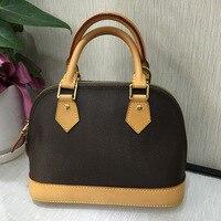 ALMA BB bag women 2018 new style luxury brand top quality tote designer monogram ebene shell bag free shipping DHL