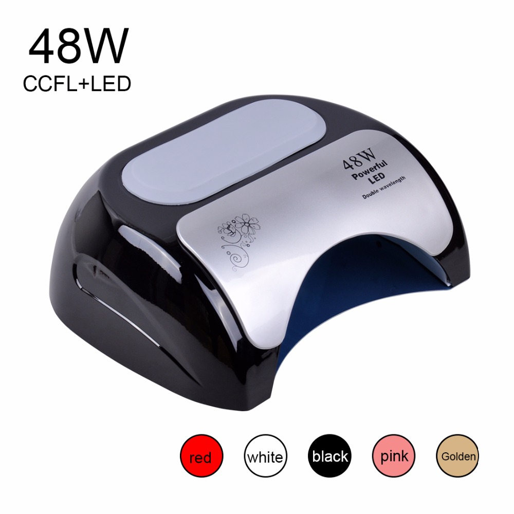 Biutee Professional 48 W CCFL LED UV Lamp Nail Dryer For Nail Gel Polish Curing Nails Lamp Dryers Art Manicure Automatic sensor
